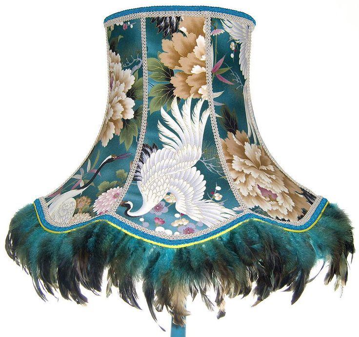 bespoke standard lampshade: crane by beauvamp | notonthehighstreet.com