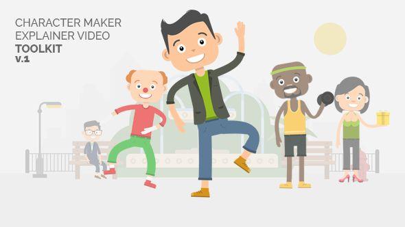 Character Maker - Explainer Video Toolkit