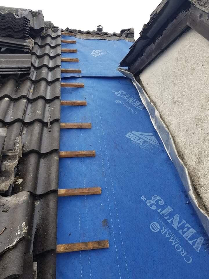 Here Is Another Project Completed By Tc Roofers This Was Roofing Repairs Dublin That We Handled For A Customer For A Customer That In 2020 Roof Repair Roofer Roofing