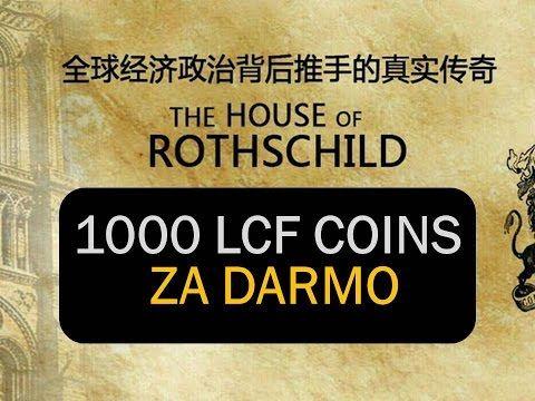Tylko do piątku trwa promocja na zdobycie 1000 darmowych cointów o wartości 500 $  https://frico1970tm.wixsite.com/lcfcoins