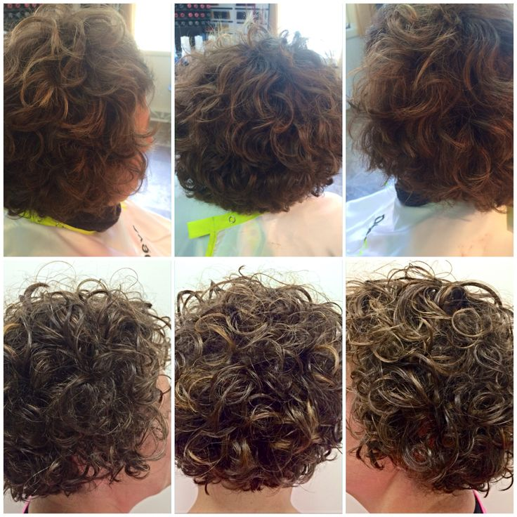 Before Amp After Deva Curl Cut With Subtle Bayalage
