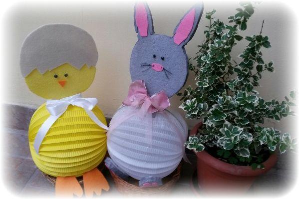 Készítsünk lampionfigurákat húsvétra! | anyakanyar
