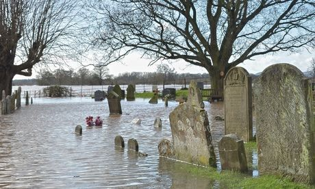 Nigel Lawson condemns Met Office scientist's 'absurd' floods comment / Former Tory chancellor denies claim that global warming is almost certainly to blame for floods and torrential rain. He probably doesn't own a country home in Somerset...