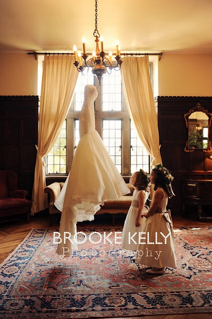 Love this picture! Captures all the little girls out there dreaming of their wedding!