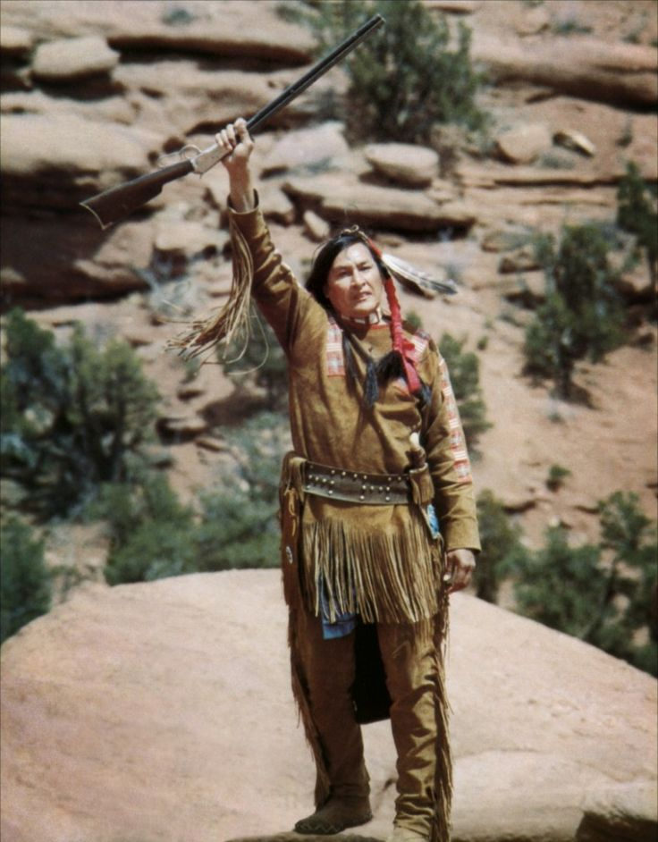 Will Sampson as Crazy Horse in The White Buffalo (1977)