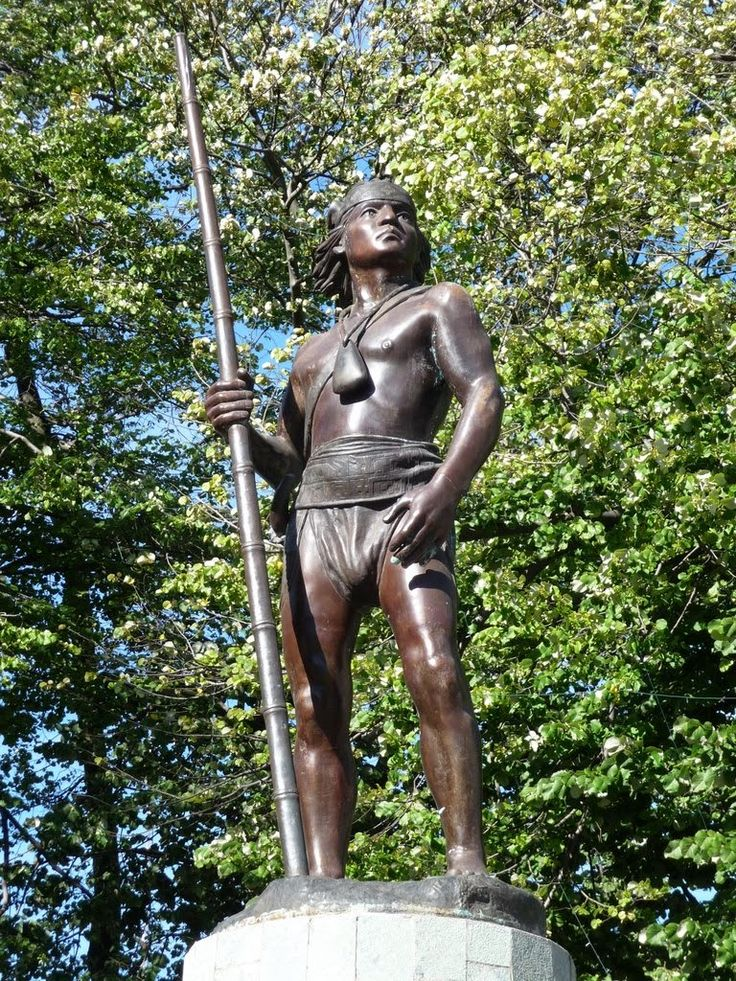 Estatua  de Lautaro - Chile