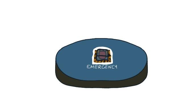 Emergency Meeting Table Prop Among Us Meeting Table Emergency Table