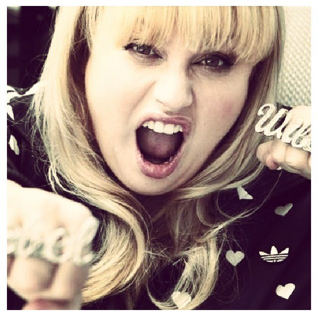 Rebel Wilson Nobody rocks the stage like she don't care!!