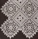 Doily, Bedspread, Tablecloth, Edging