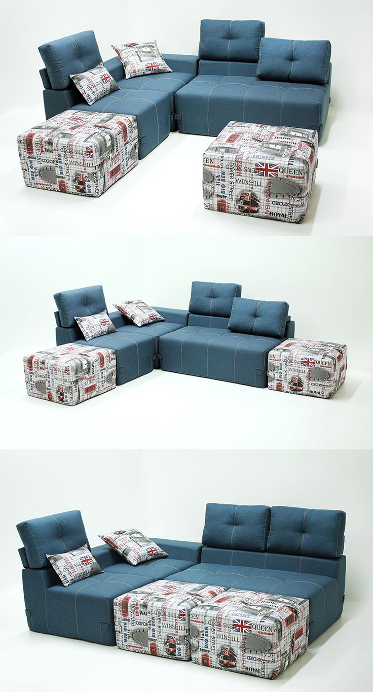 Угловой современный модульный диван Студио ТМ Ладо