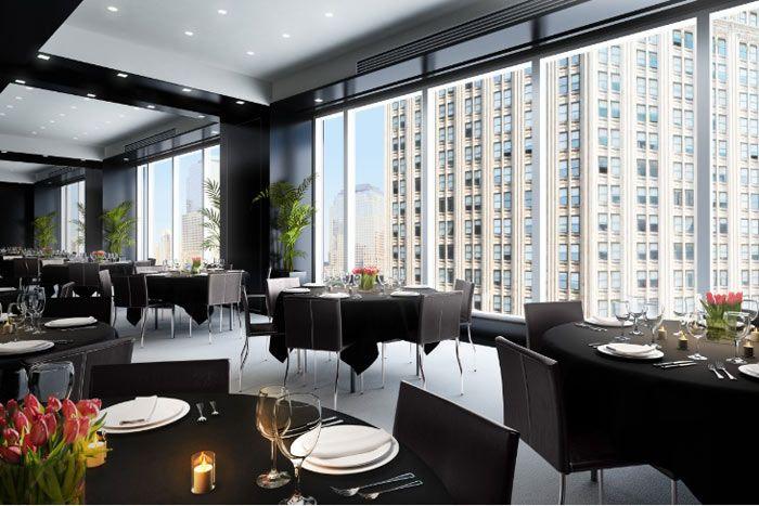 W New York: modern meeting space!