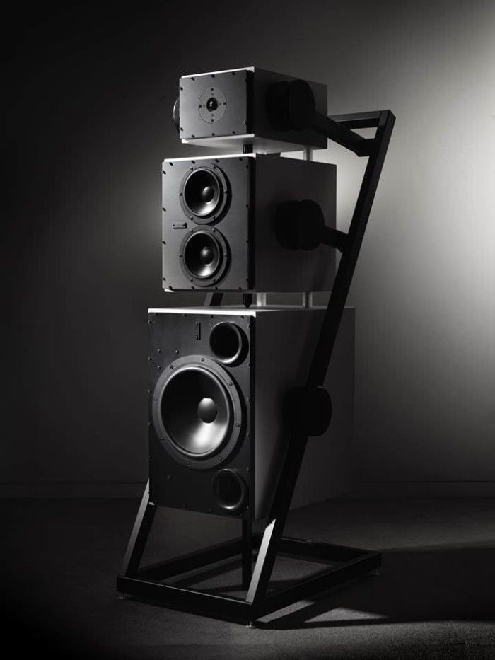 Your Ultimate High-End Speaker System $295,000 Goldmund Logos Anatta