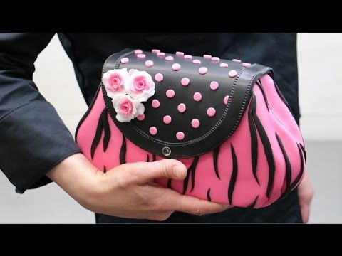 A Very Delicious Purse / How To Make a PURSE CAKE by CakesStepbyStep - YouTube