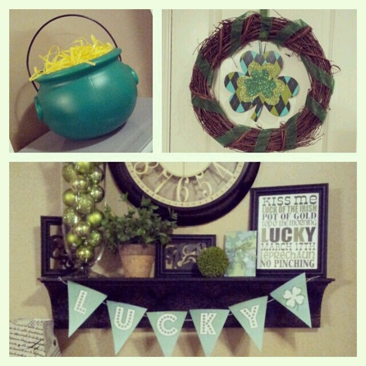 St patricks day decor holiday pinterest for Decoration saint patrick