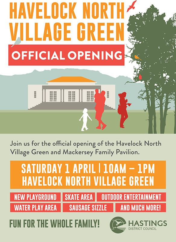 Havelock North Village Green Official Opening!