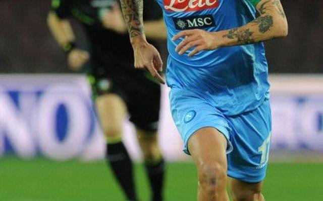 Napoli, Hamsik inaugura la nuova stagione #napoli #hamsik #amichevole #feralpisalò