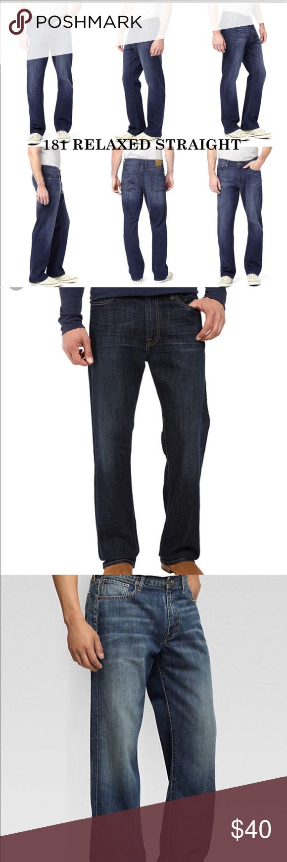 Lucky Brand relaxed jeans Locky brand 181 relaxed fit 38x32 mint condition. Sh op and feel good about it 😁. Part of the money u spend goes to Purple Heart Foundation 💜) Lucky Brand Jeans Relaxed