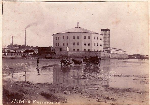 inmigrantes en argentina | hotel de inmigrantes 1887