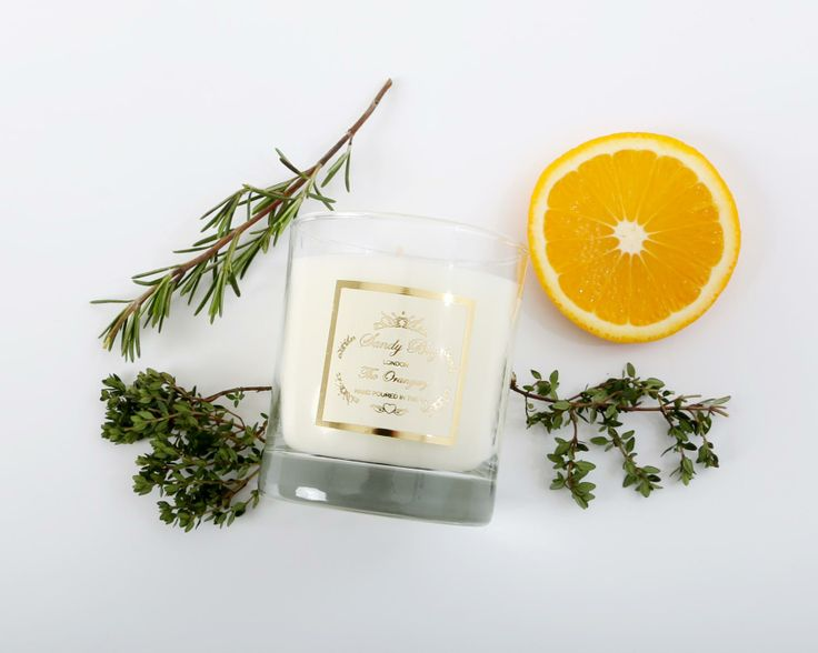 The brand New Orangery Fragrance by Sandy Bay London. A stunning uplifting blend of Orange Blossom, exotic Basil and Rosemary a great start to the New Year