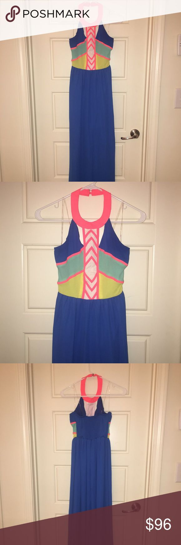 EUC Gianni Bini Mack dress, size 0 EUC, Gianni Bini maxi dress, chiffon material, size 0 Gianni Bini Dresses Maxi