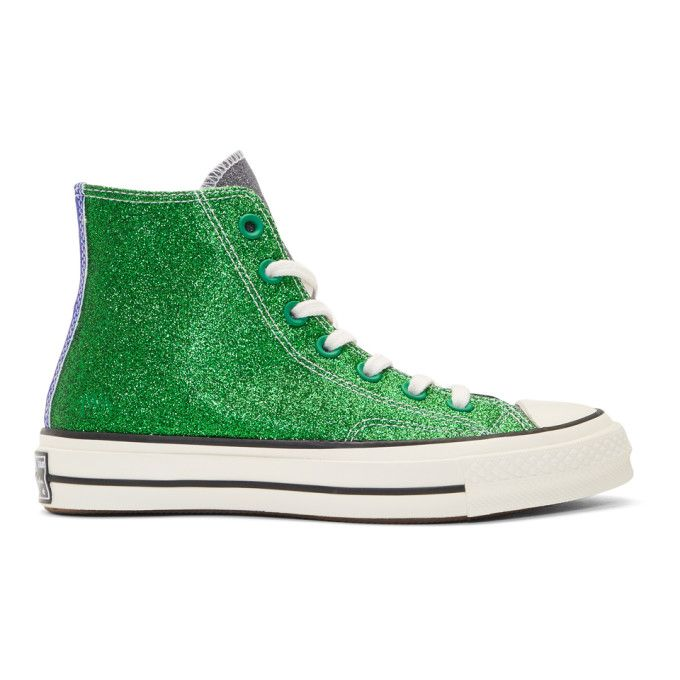 1f6420dfa6c6 J.W.ANDERSON Green   Black Converse Edition Chuck Taylor All Star 70s High- Top Sneakers.  j.w.anderson  shoes