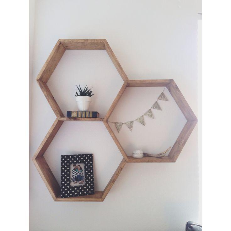Bathroom storage ideas pinterest - Honeycomb Shelves Home Pinterest Honeycomb Shelves