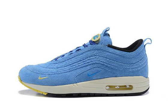 32946c14ab7e Sean Wotherspoon X Nike Air Max 97 1 Hybrid Sky Blue Yellow White Buy Shoe