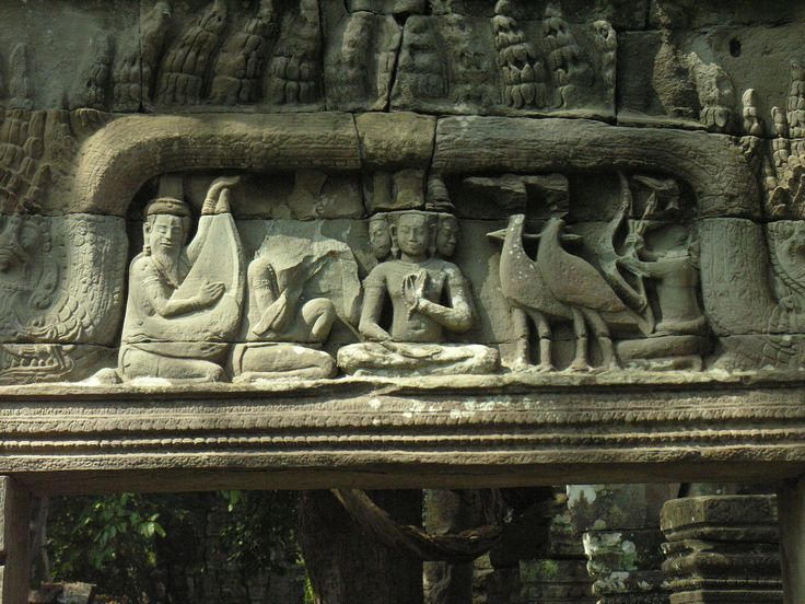 Beng melea - still in the jungle - another lintel