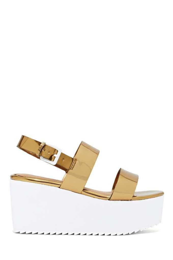 Shoe Cult Bianca Flatform