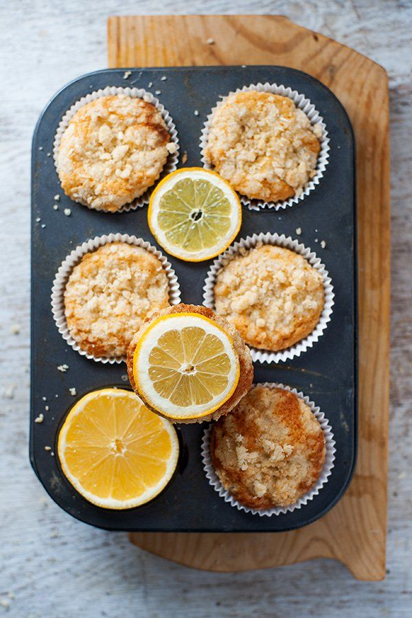 Lemon Sour Cream Muffins1 Sour Cream Muffins Sour Cream Muffin Recipes