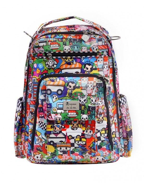 6c271ee4709e tokidoki x Ju-Ju-Be Be Right Back Backpack Sushi Cars