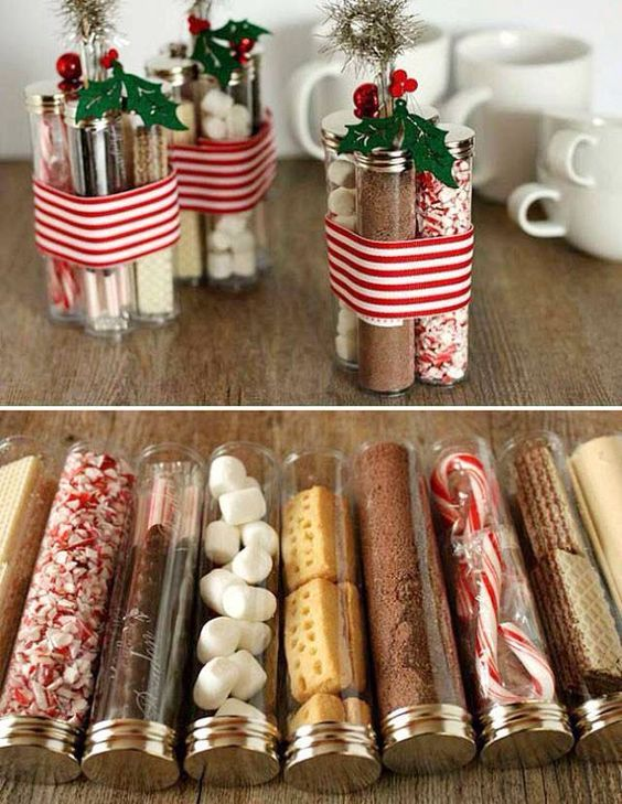 Fun DIY Christmas Presents for Coworkers - Party Wowzy | Homemade ...