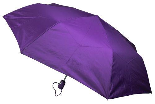 Purple Compact Umbrella - Medium Size