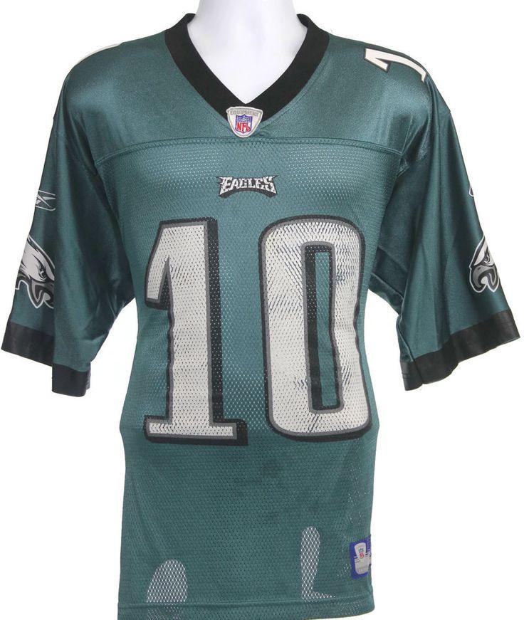 16bb2d58d64 ... DeSean Jackson Eagles Jersey Mens Size Medium Reebok On-Field  Philadelphia Sz M Reebok Eagles 10 DeSean Jackson Stitched 1960 Throwback  Green ...