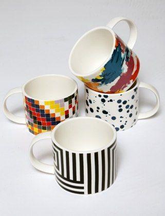 Kate Spade's Saturday Brand Mugs