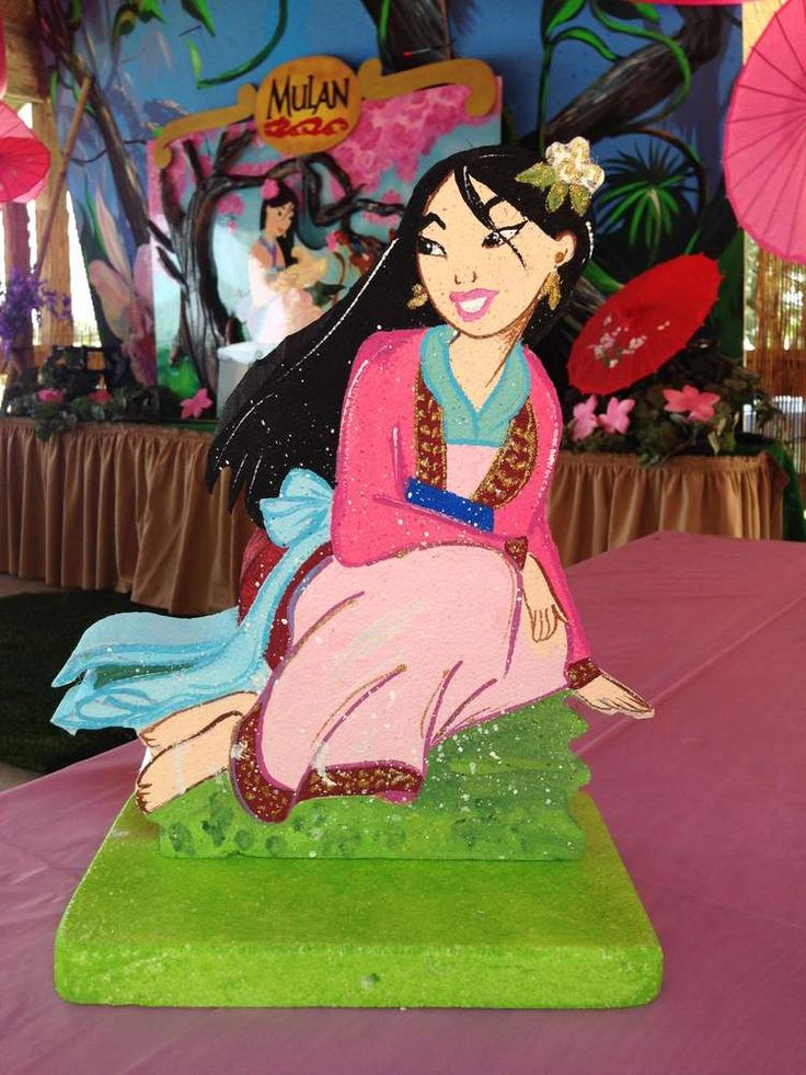 22 Best Princess Mulan Theme Cookies Cakes Ideas