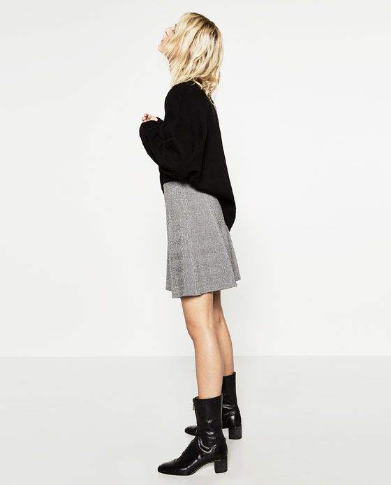 Image 3 of SHORT SKIRT from Zara