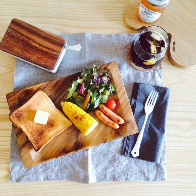ごはん/ダイニングテーブル/マンション/北欧好き/IKEA/ザラホーム…などのインテリア実例 - 2015-08-02 15:10:55 | RoomClip(ルームクリップ)