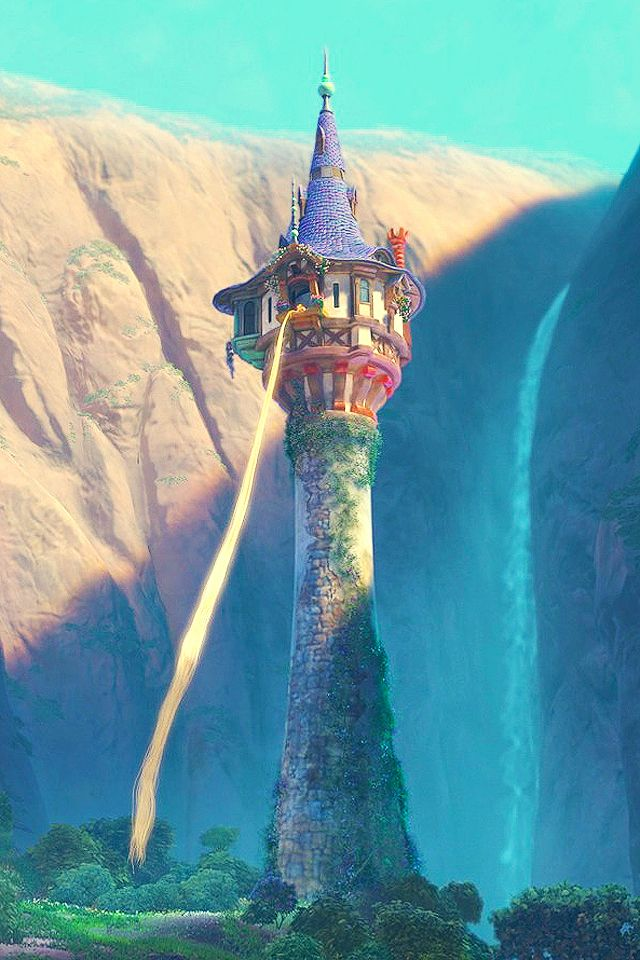 Tangled | Rapunzel tower | Enredados | La torre de Rapunzel | @dgiiirls