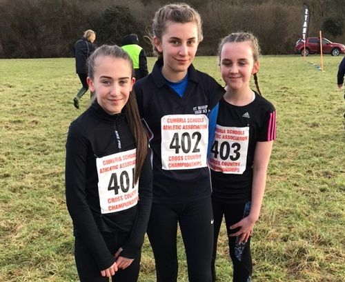 Cross Country Success for St Benedict's Students https://www.cumbriacrack.com/wp-content/uploads/2018/01/St-Benedicts-Students-Grace-Houghton-Ebony-Blackwell-Laya-McKendrey.jpg Last week, thirteen students from St Benedict's School took part in the County Cross Country Championships at Cartmel Racecourse.    https://www.cumbriacrack.com/2018/01/23/cross-country-success-st-benedicts-students/