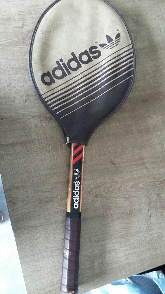 Adidas advertenties 40 Ilie Nastase tennisracket