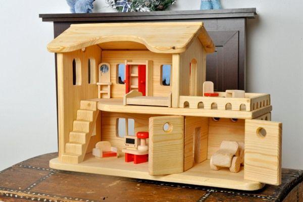 4800 Кукольный дом с верандой и гаражом ТM Леснушки