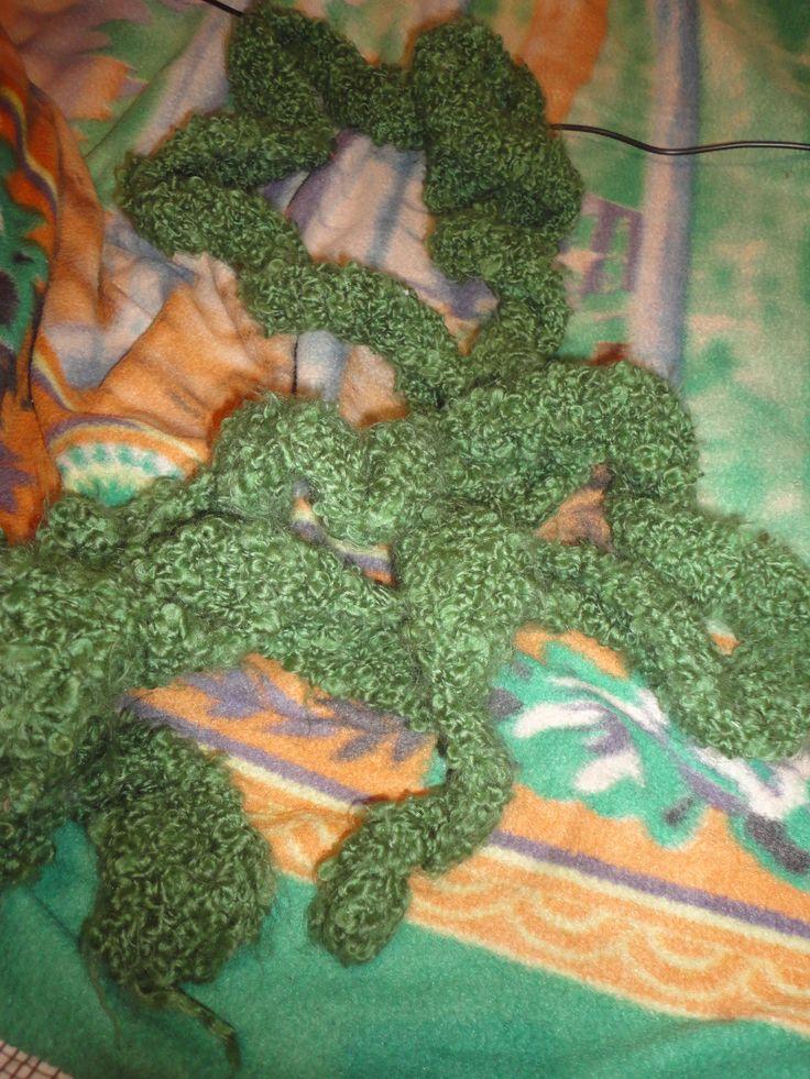 Bufanda verde