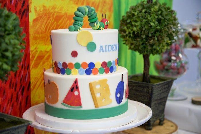 Festa de aniversário: The Very Hungry Caterpillar!