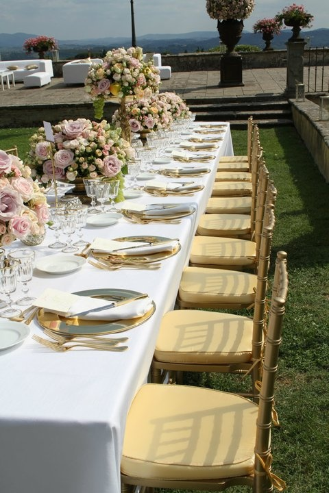 Tuscan wedding/ table settings #guidilenci. All Rights Reserved GUIDI LENCI www.guidilenci.com