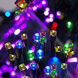 Besteker Outdoor LED String Light 12M 100PCS LED Waterproof Solar Powered Christmas Decoration Lights Chain for... christmas deals week