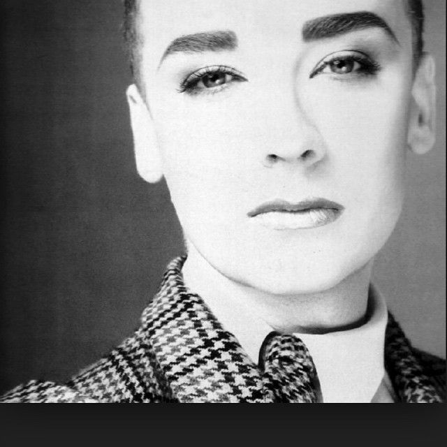 #BoyGeorge strong yet delicate