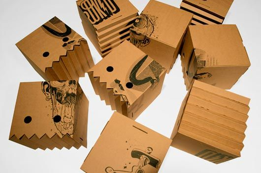 Cardbord boxes packaging