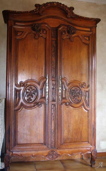 Les 317 meilleures images du tableau armoire ancienne sur pinterest meubles anciens meubles - Armoire normande ancienne ...