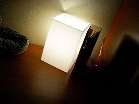 Raffaele's sidebed lamp. Thanks for sharing with us! #design #designtrasparente #light #lamps #white